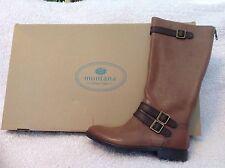 NEW Montana® Gavyn Women's Tall TAN Riding Boots, Size 8.5, Retail $169