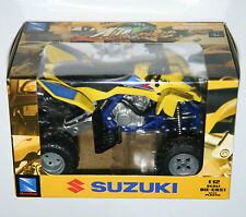 NewRay - ATV SUZUKI QUAD RACER R450 BIKE (Yellow) - Model Scale 1:12