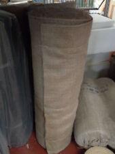 "1m Natural Hessian Jute Sack Fabric / Metre 54"" Wide Upholstery Garden"