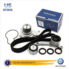 Timing Belt Kit Water Pump Hydraulic Tensioner for 95-02 Chrysler Dodge Jeep 16V