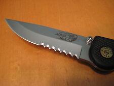 GT Knives ATS-34 Drop Pt. Black T6 Tactical EDC Folder Knife USA pre Axis LNWOB!