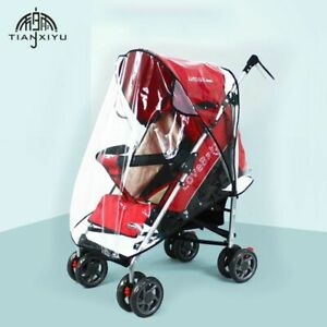Raincover For Stroller Pram Cart Waterproof Baby Carriages Pushchair Accessories