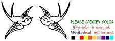 "SPARROW Bird Funny Vinyl Decal Sticker Car Window laptop tablet netbook 7"""