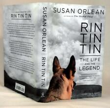 RIN TIN TIN, Susan Orlean, SIGNED (title page), 1st/1st, Like New
