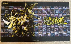 YuGiOh Golden Duelist Collection Game Mat playmat Dark Magician Konami Official