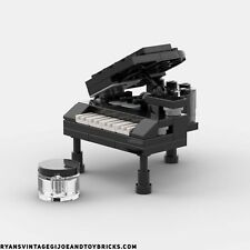 LEGO CITY - CUSTOM GRAND PIANO : MUSICAL INSTRUMENT AUTHENTIC PARTS & PIECES