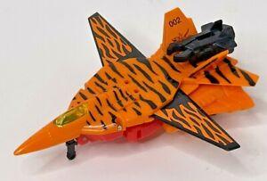Transformers 1995 G2 Cyberjets HOOLIGAN Orange Striped Plane Jet Autobot Figure