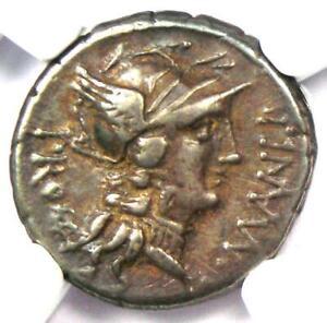 Sulla AR Denarius Silver Coin 79 BC (L. Man. Torquatus). Certified NGC Choice VF