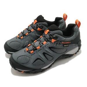 Merrell Yokota 2 Sport GTX Gore-Tex Grey Black Orange Men Outdoors Shoes J036231