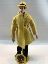 Dick Tracy by Applause Doll w Original Stand Vintage 1990s Collectible Figurine