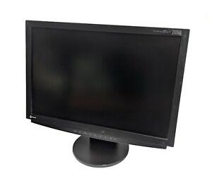 """EIZO Flexscan S2411W 24 """" Pouces LCD 1920x1200 Écran Moniteur 16,179 Heures"""
