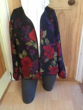 Formal Floral Plus Size Coats & Jackets for Women
