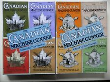 'The Canadian Machine Gunner' Vol 1 & 2 Gun Corps MGC official magazine book CEF