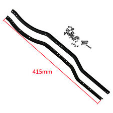 2pcs Stainless Steel Chassis Frame Rails set for Axial SCX10 1/10 RC Crawler Car
