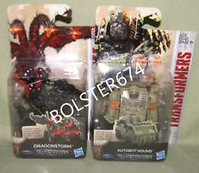 "DRAGONSTORM & HOUND Legion Class Hasbro Transformers Last Knight 3"" Scale Figure"
