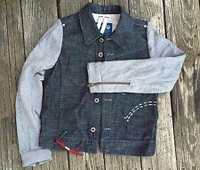 NWT Organic Raw by G Star denim jacket size Small retails $205 Boys Men Juniors