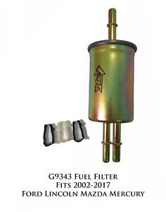 Prime Guard Gas Fuel Filter G9343 Fits 02-17 Ford Lincoln Mazda Mercury