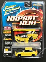 JOHNNY LIGHTNING 1998 Honda Civic Custom 1:64 Yellow