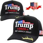Trump 2020 Black Hat Cap Keep America Great Make America Great Again KAG MAGA