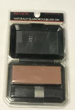 Revlon Naturally Glamorous Blush On  TOAST OF NEW YORK  .21 oz stickers, smudged