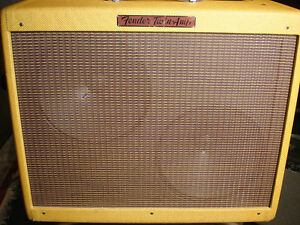 FENDER U.S.A 57 CUSTOM TWIN TWEED hand wired all tube tone monster