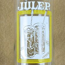 Julep Soda Bottle ACL Clear 10oz 10 Ounce Old Vintage