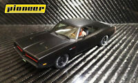 Pioneer P091 - 1969 Dodge Charger Black Stealth 426 Hemi suits Scalextric track