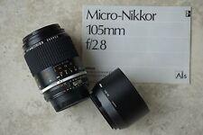Nikon Ai S Micro Nikkor 105mm 2,8.