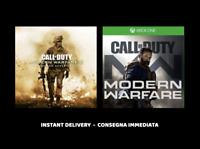 BUNDLE Call of Duty Modern Warfare Xbox One NO key NO cd  offline