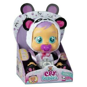 IMC Toys Cry Babies Pandy Plastic Interactive Doll Cries Real Tears