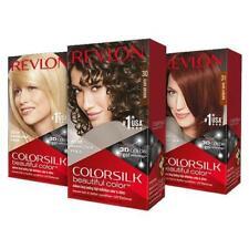 Lot of 4 Revlon Colorsilk Natural Permanent Hair Colors.