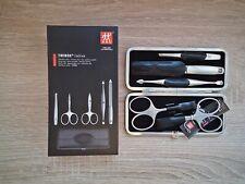 Zwilling Maniküre Set TWINOX Emblem schwarz 5 tlg Maniküre-Set