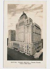 RPPC Royal York Hotel Toronto Ontario Airmaps Photo Posted ON 1945