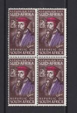 SOUTH AFRICA 1964 CALVIN 400th ANNIVERSARY  MNH BLOCK OF 4 SG254 Religion