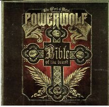 POWERWOLF - BIBLE OF THE BEAST (2009) RARE CD Jewel Case by Fono Music+FREE GIFT