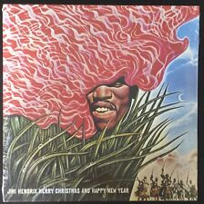 """JIMI HENDRIX-MERRY CHRISTMAS AND HAPPY NEW YEAR-10"""" VINYL LP-SEALED-COLLECTIBLE"""