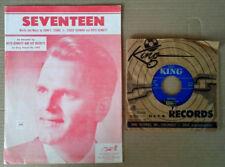 BOYD BENNETT AND HIS ROCKETS - SEVENTEEN - SHEET MUSIC +  SEVENTEEN - KING 45