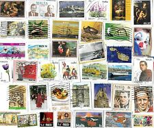 MALTA - Kiloware Selection of Stamps - Approx 30 Grams