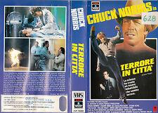 TERRORE IN CITTA' (1982) VHS
