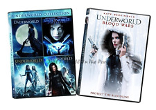 Underworld: Complete Kate Beckinsale Movie Series 1 2 3 4 5 Box / DVD Set(s) NEW