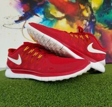 Mens Nike Free 5.0 Red Athletic Running Tennis Shoes Sneaker - US Size 12