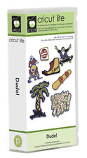 CRICUT *DUDE* SHAPES CARTRIDGE *NEW* BOYS & MEN'S EXTREME OUTDOOR RIDING SPORTS