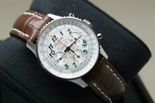 Stunning Breitling Gents Montbrilliant 01 40mm Ref AB0130 - Box & Papers