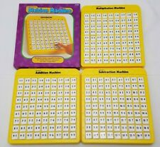 Lakeshore Machines (4) Addition Subtraction Multiplication Division Learn Math!!