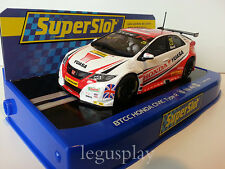 Slot SCX Scalextric Superslot H3734 BTCC Honda Civic Type R / BTCC 2015 / M.Neal