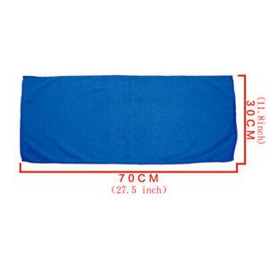 5pcs Blue Thick Absorbent Wash Cloth Car Auto Care Microfiber Clean Towels