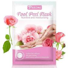 Putimi 3pair Rose Whitening Foot For Legs Care Foot Patches Pedicure U4M5 K New