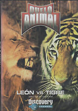 DVD - Leon Vs. Tigre NEW Animal Face Off Lion Vs. Tiger FAST SHIPPING !