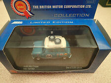 Vanguards Austin Mini Cooper Rally VA02514 Surf Blue BMC Ltd Collection
