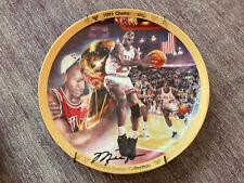Upper Deck Collector Plate Michael Jordan 1991 NBA Championship Limited Edition